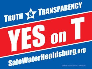 Truth and Transparency - YES on T